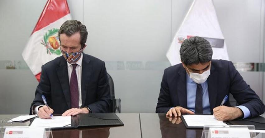 MINEDU: Perú y Francia suscriben convenio para que estudiantes de los COAR aprendan el idioma francés