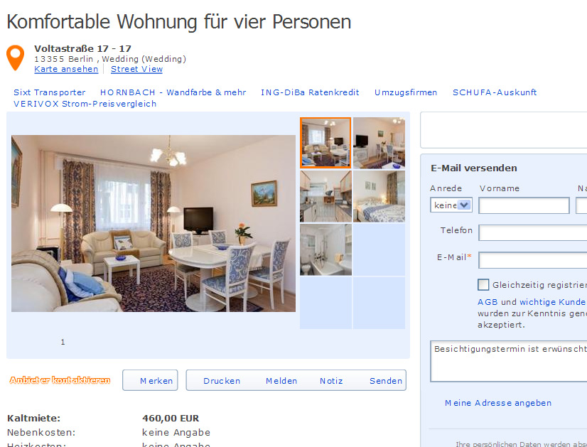 Wohnungsbetrug Blogspot Com Bwibner Yahoo De Wibnerbea