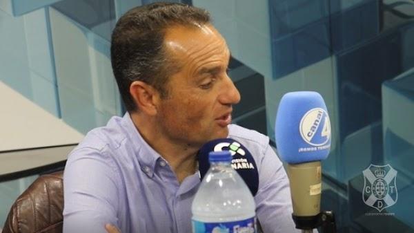 """Oltra - Tenerife -: """"El Málaga es un equipo hecho para el ascenso"""""""