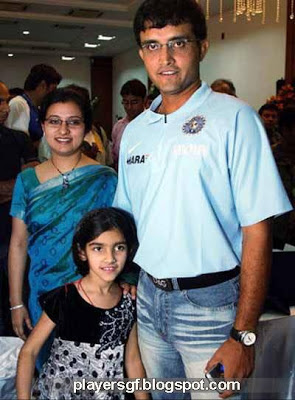 Sourav Chandidas Ganguly and his wifes pics