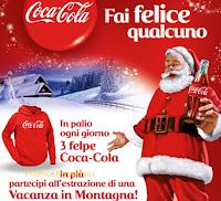 Logo Vinci felpe Coca-Cola e un viaggio in montagna
