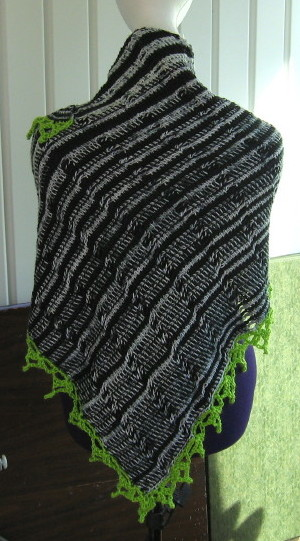 Simple Knits: Tunisian Tides Shawl to crochet
