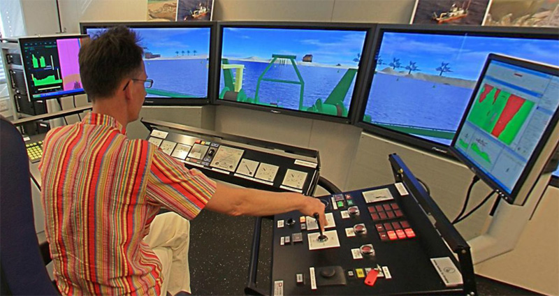 Cutter Suction Dredger Simulator Training
