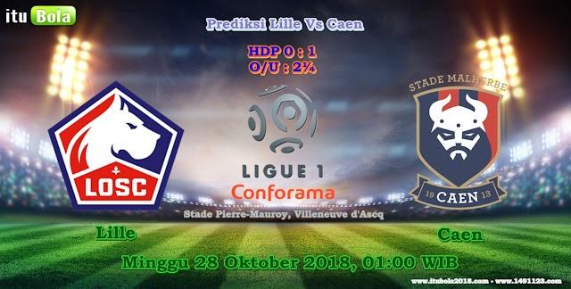 Prediksi Lille Vs Caen - ituBola