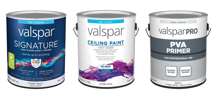 Valspar Paint Options