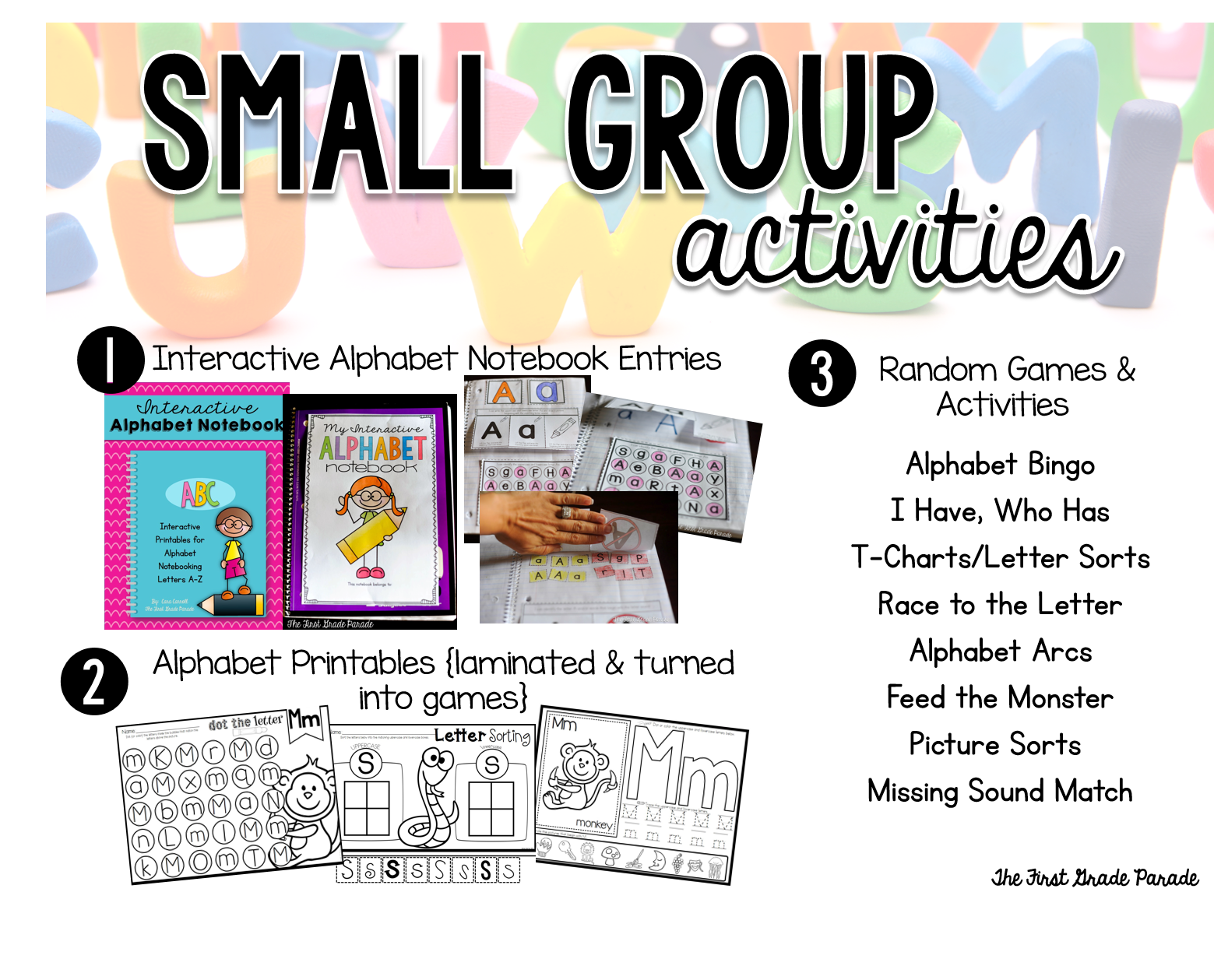 Small Group Alphabet Instruction