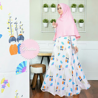 Model Gaun Pesta Muslimah Cantik Unik