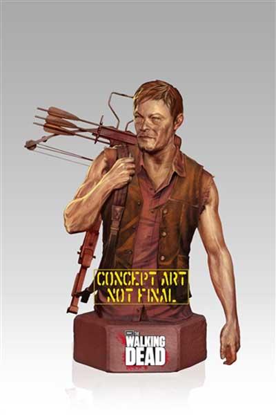 The Walking Dead, il busto da collezione di Daryl Dixon (Gentle Giant)