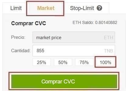 Guía Fácil comprar criptomoneda Civic (CVC) y guardar en monedero