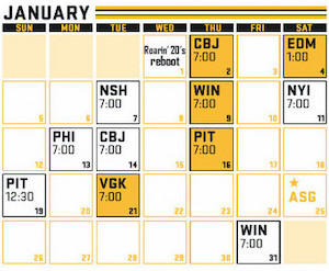 Bruins Schedule