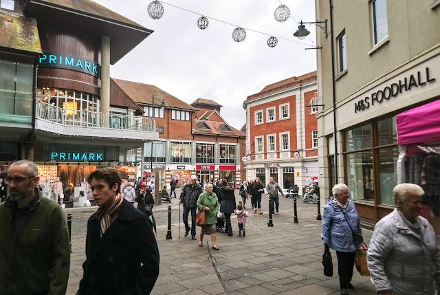Shopping At Whitefriars Canterbury