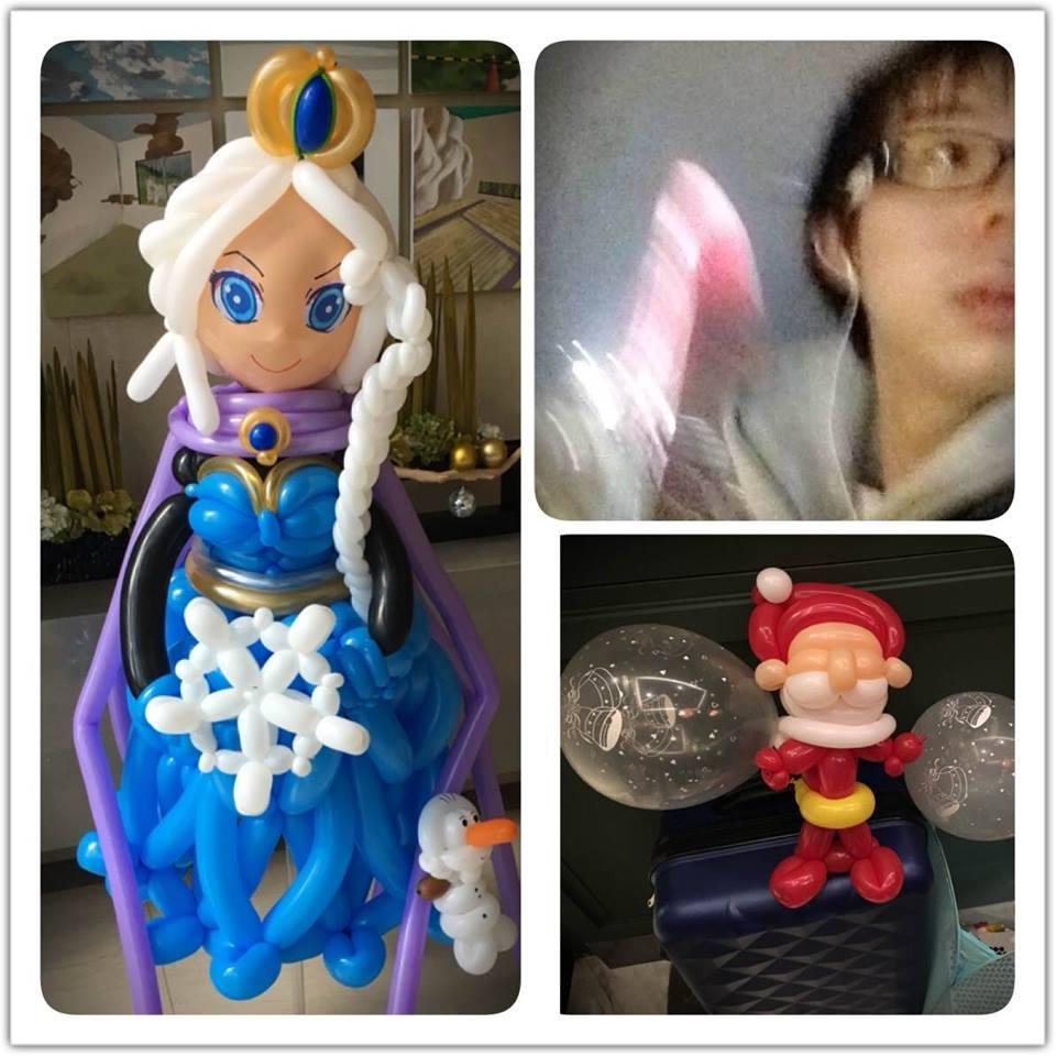 氣球ELSA人偶