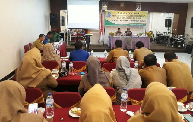 Unit Pelaksana Teknis Daerah UPTD Dinas Pertanian Tanaman Pangan Holtikultura dan Perkebunan kabupaten Bone, bonepos