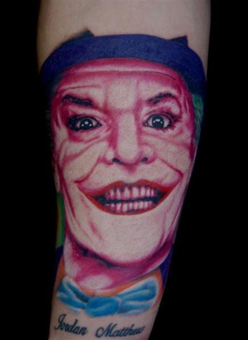 <b>Joker Tattoo Meanings</b> And Personality They are often associated ...