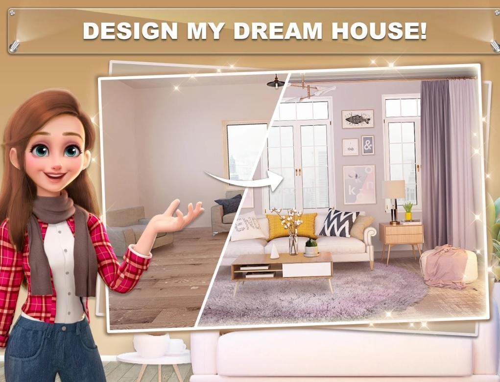 My Home - Design Dreams - 1.0.29 - Mod Money, Gem