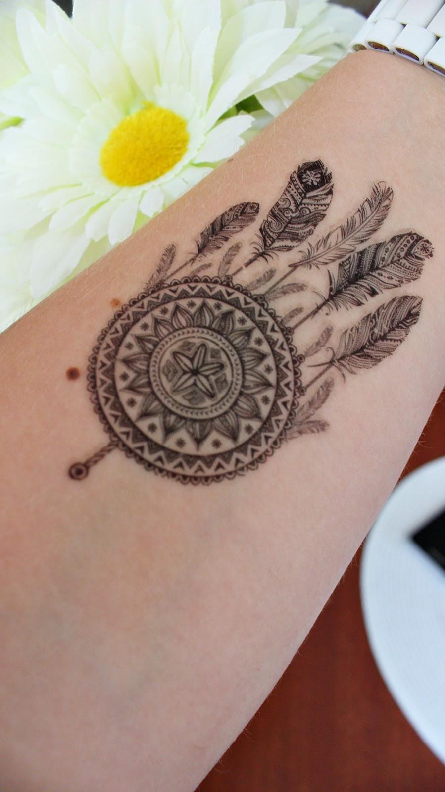 Udawany Tatuaż W Kilka Minut Zakochana W Kolorkach