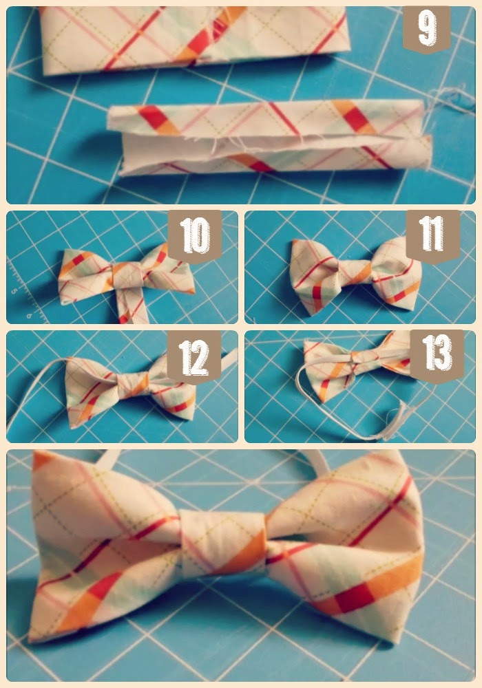 Carissa Miss: Make a bowtie in 5 minutes or less