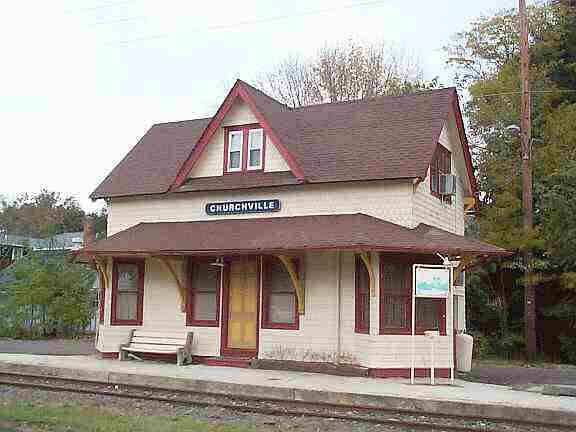 The Churchville Train Station (Private Residence)