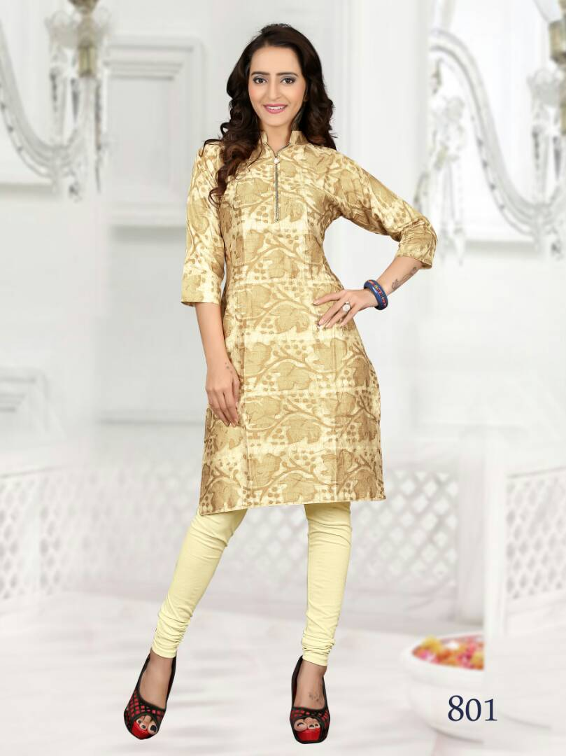 We Vol 8 – Pure Satin Cotton Casual Wear Kurti