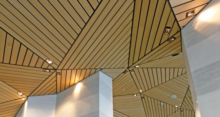Wooden False Ceiling Designs For Living Room Beach Pictures Stylish Wood Panels, Collection From Hunted Douglas
