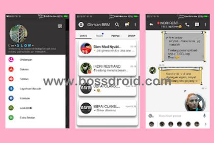 BBM Mod Minimal v3.0.1.25 Apk (Tanpa Iklan) Terbaru