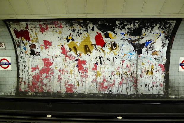 London Pop-ups Pop- Art Exhibition Green Park Station