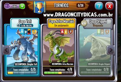 Ganhe o Dragão Yeti!