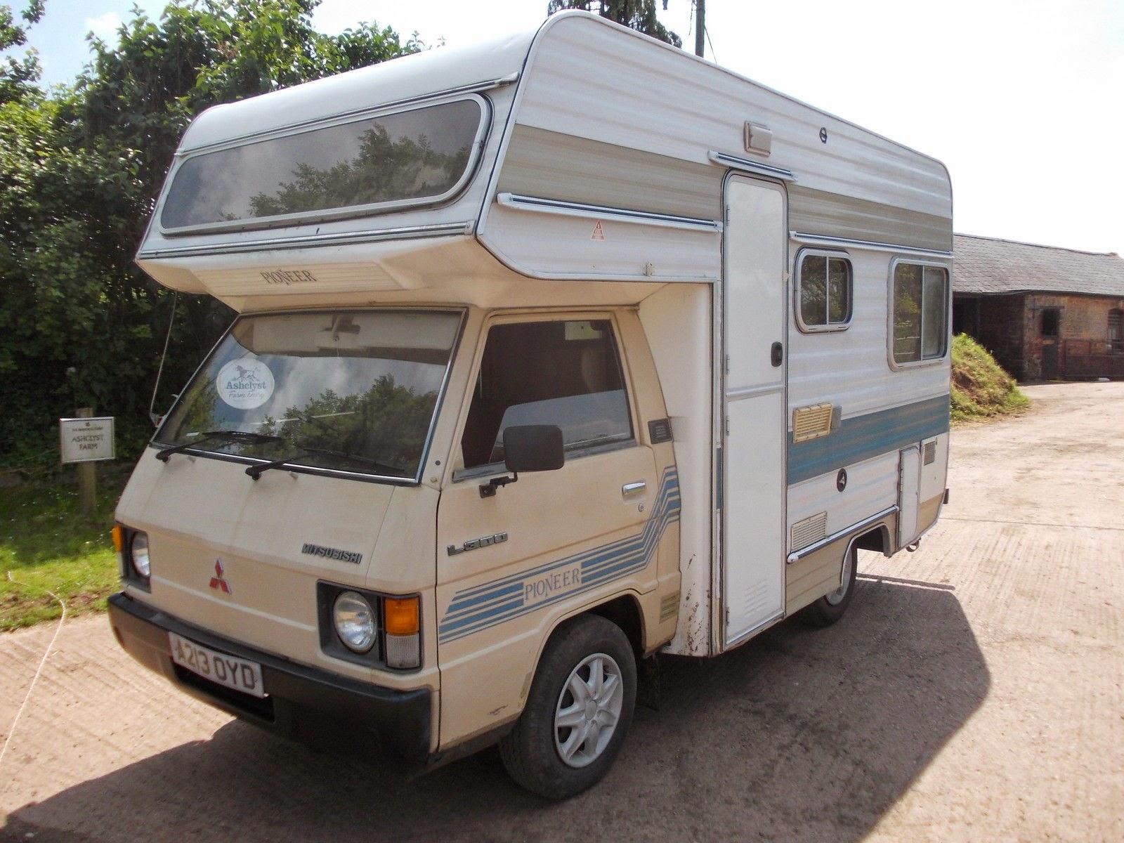 Used RVs Mitsubishi L300 Pioneer Small Motorhome For Sale ...