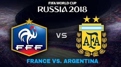Live Streaming France vs Argentina Piala Dunia 30.6.2018