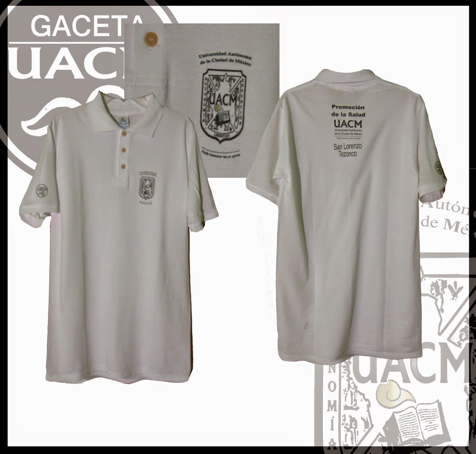 Escudo UACM  Playeras - Camisetas UACM 04a12b0a89f04