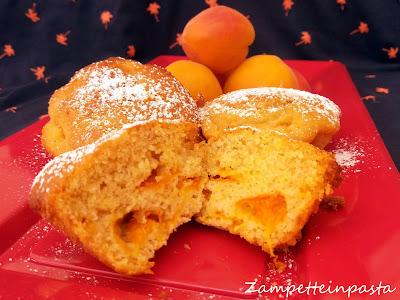 Muffin con albicocche senza burro