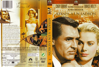Carátula: Atrapa a un ladrón (1955) To Catch a Thief