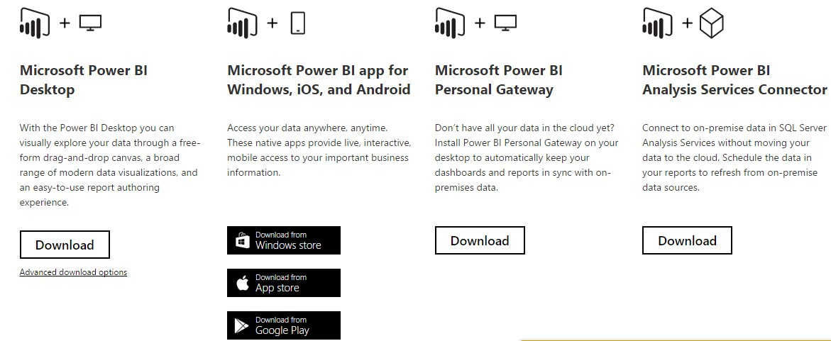 Microsoft Power BI - Installation  - Microsoft Dynamics NAV