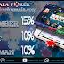 Promo Poker Online Bonus Deposit Member Baru 15% + 10 % Harian