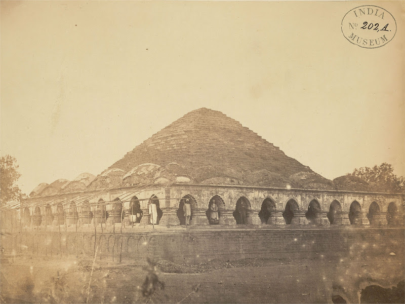 The Rasmancha Temple, Bishnupur, Bankura District, Bengal - 1869