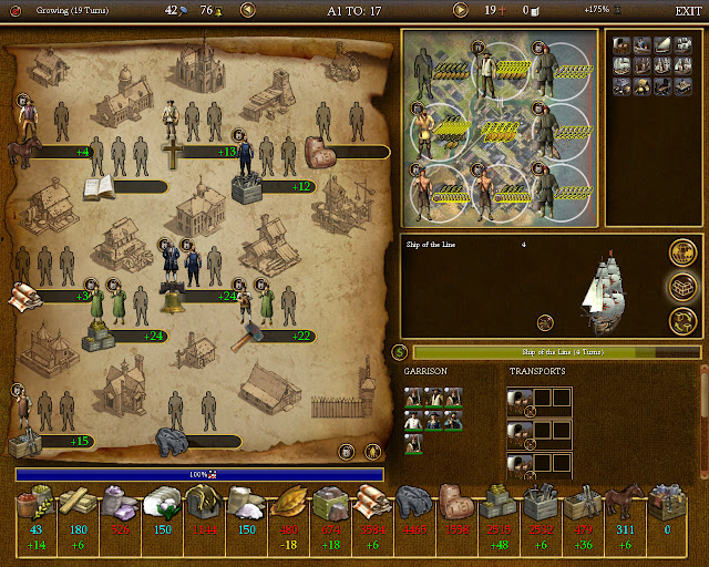 Export to Europe | Civilization 4 Colonization Screenshot