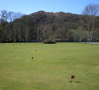 Putting at White Platts Recreation Ground in Ambleside