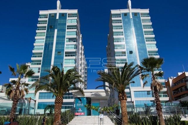 V288 - Atlantic Paradise Towers - Apartamentos 4 suítes - Frente Mar e Frente Avenida - Meia Praia - Itapema/SC
