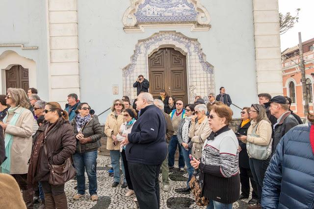 Rafael Greca de Macedo em frente a Igreja do Rosário