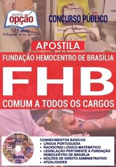 Apostila FHB DF 2017 Todos os cargos