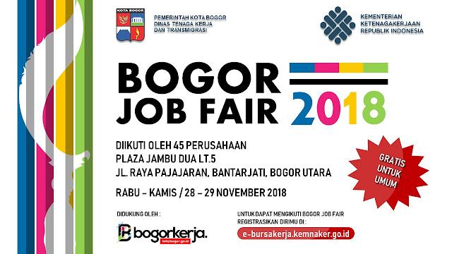Job Fair Bogor Gratis