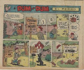 Página a color de Dum-Dum en el nº 409 de Maravillas
