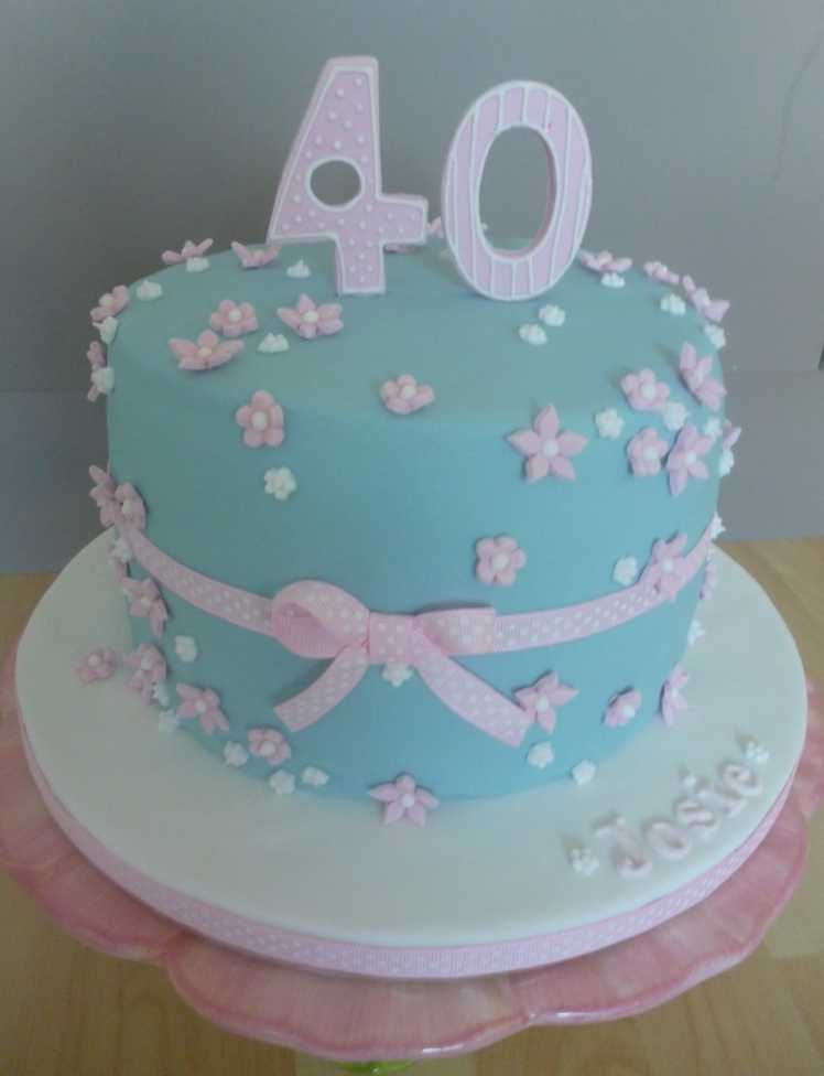 The Papoose Mamoose 40th Birthday Cake Gluten Free
