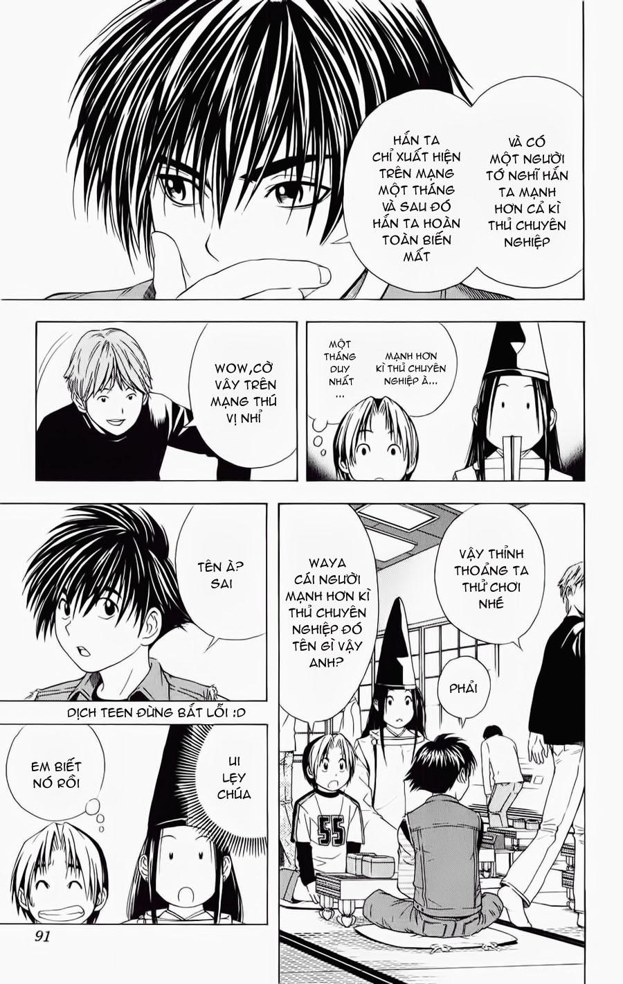Hikaru No Go hikaru no go chap 55 trang 23