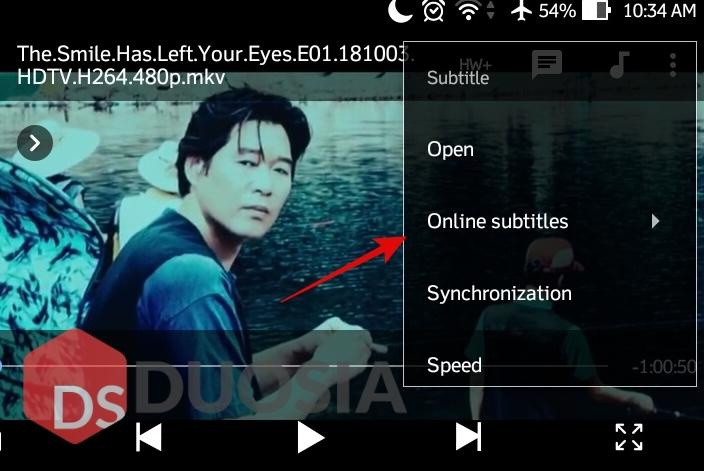 mencari subtitle di android