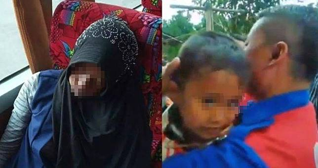 Ibunya meninggal di Bus, Anaknya di gendong Sopir : Kenapa ibu tidur terus
