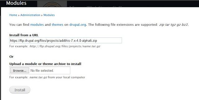 Install new module in Drupal