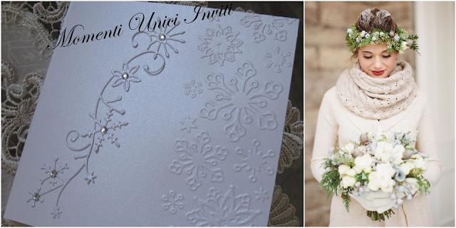 011 Matrimonio d'inverno... le nostre proposte per i vostri inviti!Colore Bianco Colore Blu cover libretti Nozze d'Inverno Partecipazioni intagliate