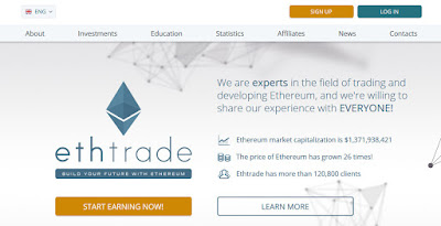 How to make money online at Ethtrade