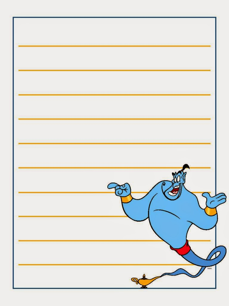 Aladdin And Jasmine Free Printable Notebook Oh My